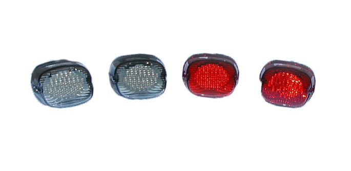 Lay down tail light