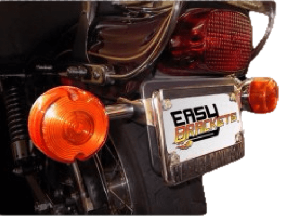 Turn signal relocation kit for 2017 and earlier Softail Standard