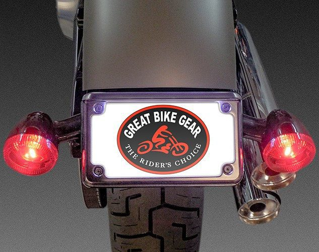 License Plate/Turn Signal Relocation kit for 2018 and later Street Bob/Slim, 2020 and later Standard