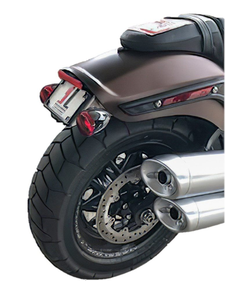 License Plate/Turn Signal Relocation Kit for 2018 and later Fat Bob