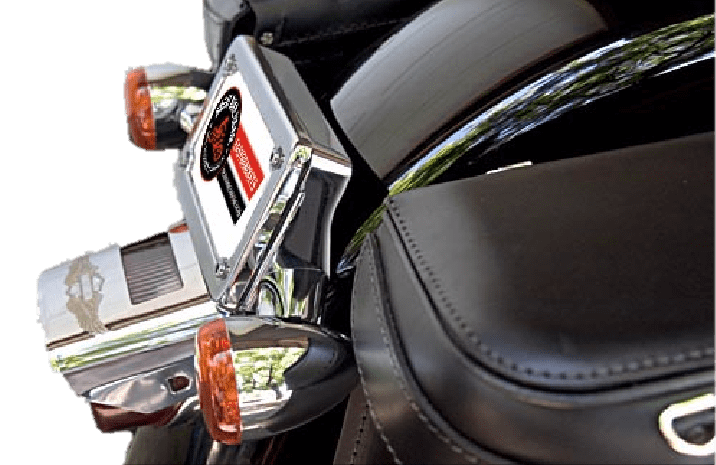 Turn signal relocation kit for 2017 and earlier Super Glide