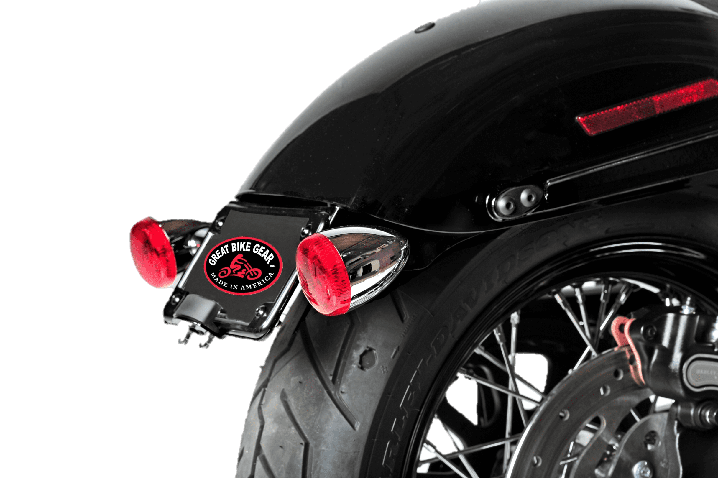 Turn signal relocation kit for 2016-2017 Low Rider S